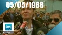 20h Antenne 2 du 05 mai 1988 - Libération des otages français du Liban - Archive INA