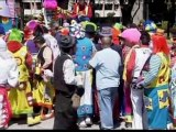 Clowns take laughter to Mexico City