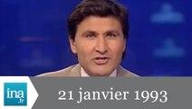 20h France 2 du 21 janvier 1993 - Bicentenaire de la mort de Louis XVI - Archive INA