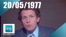20h Antenne 2 du 20 mai 1977 - Leonid Pliouchtch invité du journal - Archive INA