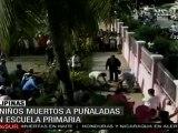Cuatro niños muertos a puñaladas en escuela primaria de Fi