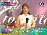 Conferencia de prensa: Edith González en TV Azteca Parte 1/2
