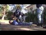 Formation au maintien de l'ordre des gendarmes ivoiriens