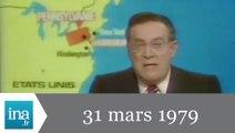 20h Antenne 2 du 31 mars 1979 - Accident nucléaire aux USA - Archive INA