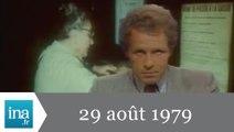 20h Antenne 2 du 29 août 1979 - Archive INA