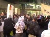 Blocage : les mal-logés bloquent Paris-Habitat OPH