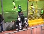 Miracle dans un stade de foot en italie