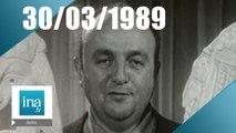 20h France 2 du 30 mars 1989 - Mort de Bernard Blier - Archive INA
