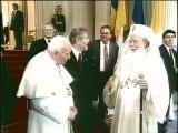Carte Roumanie / le pape en Roumanie