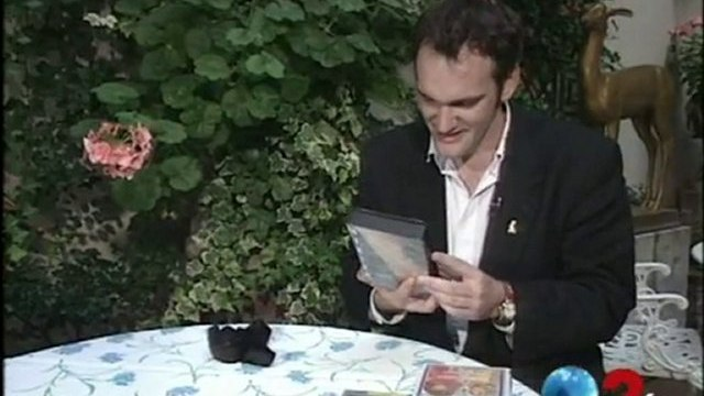 """Quentin Tarantino """"Pulp fiction"""" à Cannes - Archive INA"""