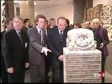 [Plateau brève : inauguration du musée Guimet par Jacques Chirac]