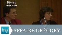 Affaire Grégory: les Villemin au Sénat - Archive INA