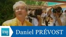 Daniel prévost et Patrick Bruel à Roland Garros - Archive INA
