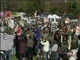 [Etats Unis : manifestation anti guerre en Irak à Washington]