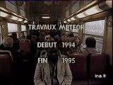 Paris : transports parisiens : projet Météor