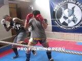 Técnica d Muay Thai: Bloqueo a Patada Frontal y ContraAtaque