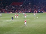 20-10-2010 : Old Trafford l'annonce des equipes...