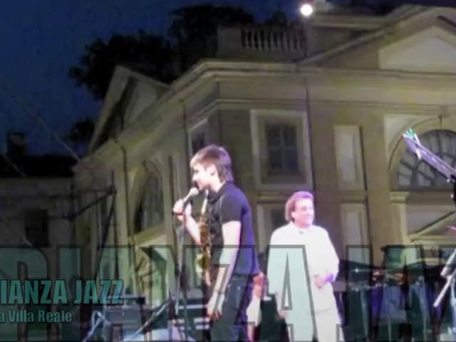 A night with De Piscopo e Cigalini @ Brianza Jazz 2010