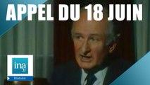 L'Appel du 18 Juin raconté par l'aide de camps de De Gaulle   Archive INA