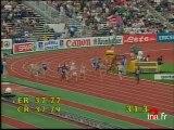 Championnats d'Europe d'Athlètisme de Budapest : 4X100 Dames, perche