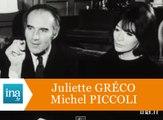 Michel Piccoli et Juliette Gréco parlent de leur mariage - Archive INA