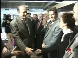Chirac inauguration hôpital Mantes la Jolie