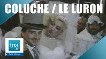 Le mariage de Coluche et Thierry Le Luron | Archive INA