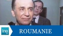 Bucarest : réactions des politiques à la mort Ceaușescu - Archive INA