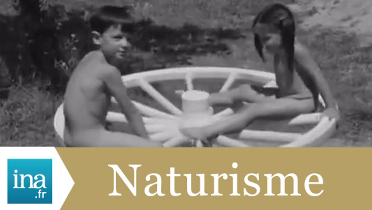 Le camp de naturistes de Villette d'Anthon - archive vidéo INA