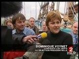 [Dominique Voynet, candidate des Verts à l'élection présidentielle]