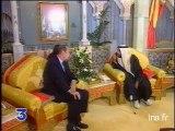 Jacques Chirac aux Emirats Arabes Unis