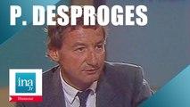 Pierre Desproges chroniqueur culinaire et politique - Archive INA