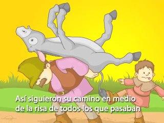 Fable: El Hombre el Nino y el Burro read by Janicza Bravo fo