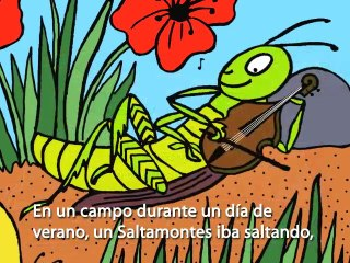 Fairy Tale: The Ant and the Grasshopper (La Hormiga y el Sal
