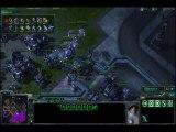 Match Starcraft II : Tuzer (T) vs Ivory (Z) par Llewellys.