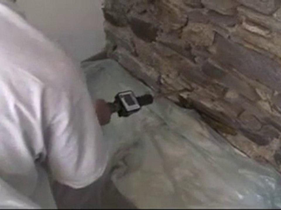 Traitement De L Humidite Des Murs Par Injection Avec Actimur Video Dailymotion