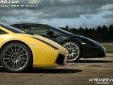 HD Ferrari 550 Maranello vs BMW M5 Touring Supersprint