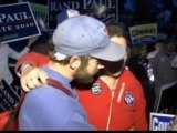 Tea Party supporters and protestors scuffle