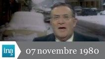20h Antenne 2 du 07 novembre 1980 - neige en Bretagne - Archive INA