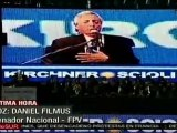 Filmus; Kirchner mostró una voluntad de transformación de Argentina
