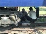 Passenger Train Derails in Northern India