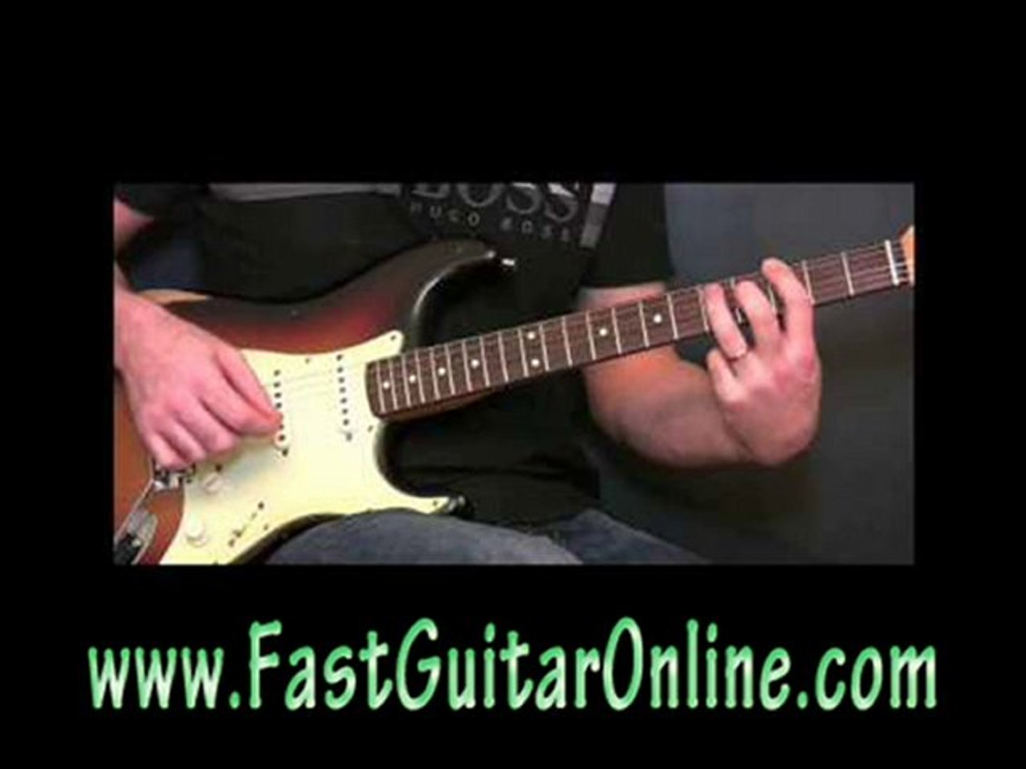 learn how to play a electric guitar fast