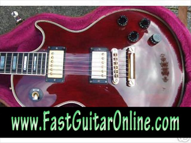 fast electric guitar fast
