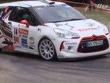 Rallye - Critérium des Cévennes - DS3 R3 contre Clio R3
