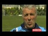 Eric Gerets parle de Marseille entraineur de l équipe maroc