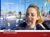 Voile: Damien Seguin sur La Route du Rhum 2010