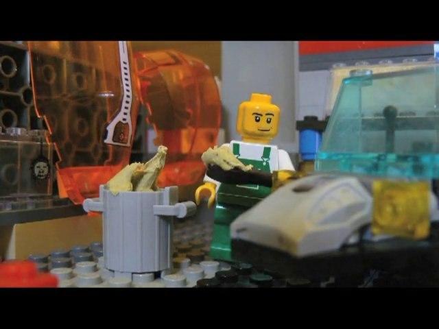 Carlouche employer de Carglasse (EN  LEGO !)