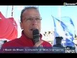Voile: Marc Lepesqueux au départ de la Route du Rhum 2010