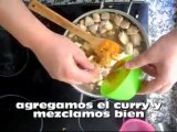 arroz con  curry (Curry rice)
