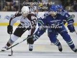 Vancouver Canucks vs Colorado Avalanche Highlights 11/04/10